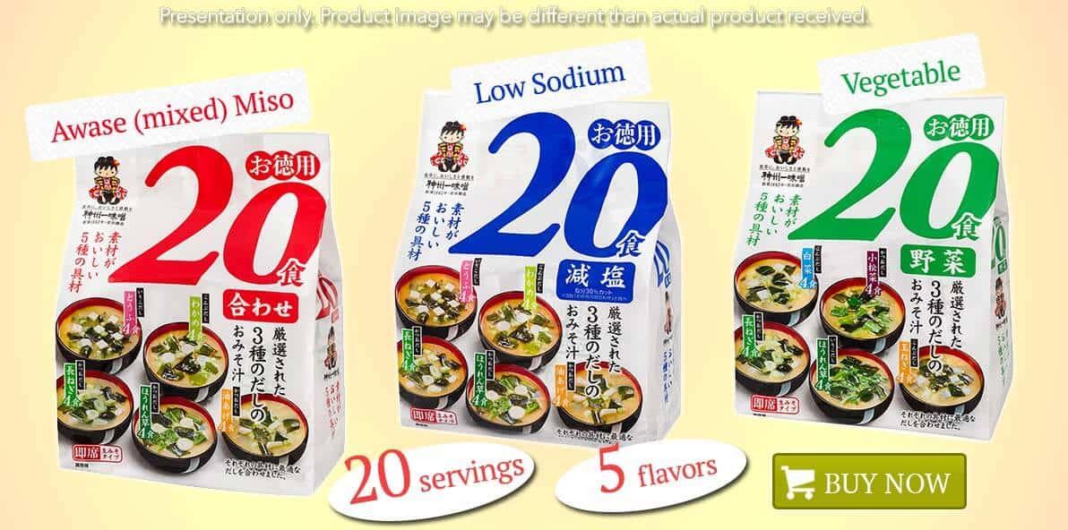 Toku 20 flavors